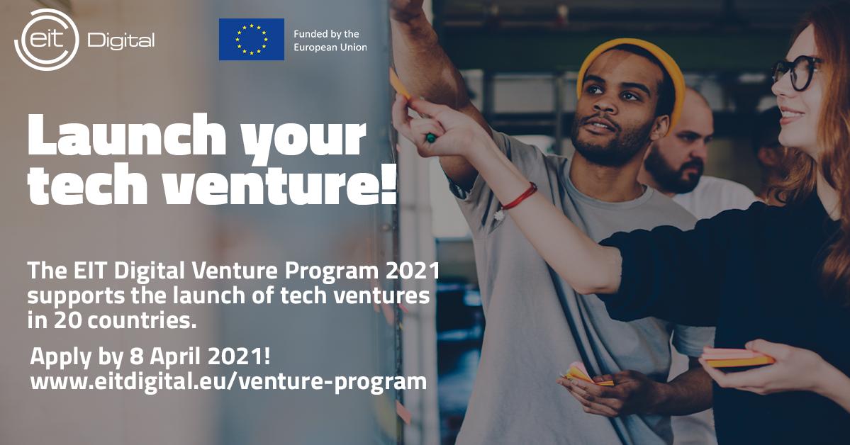 Prijavite se za EIT Digitalni program i ostvarite financijsku potporu do 25.000 €!