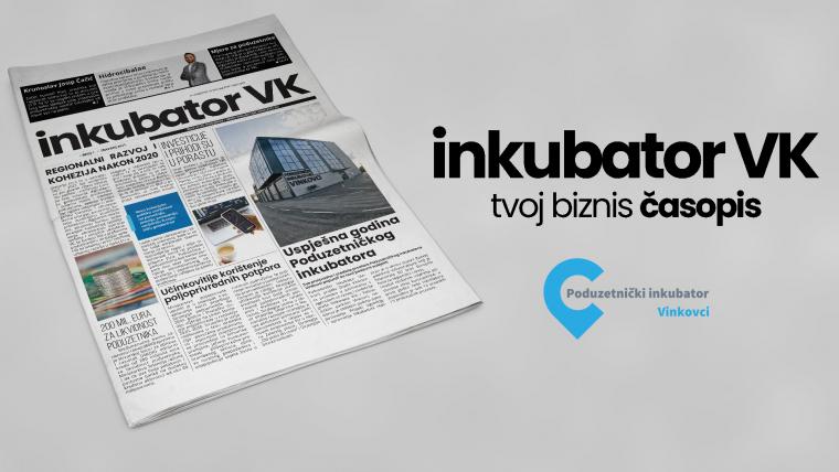 Online izdanje prvog broja glasila Inkubator VK