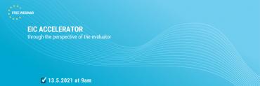 """Besplatni webinar """"EIC ACCELERATOR kroz perspektivu projektnih evaluatora"""""""