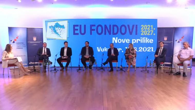 """Sudjelovali smo u panel raspravi Ministarstva regionalnoga razvoja i fondova Europske unije na temu """"Što donose EU fondovi 2021.-2027.za razvoj lokalnih sredina?"""""""