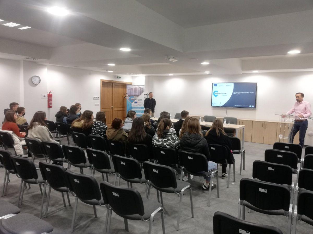 Još jedan posjet učenika Ekonomske i trgovačke škole Ivana Domca Poduzetničkom inkubatoru Vinkovci